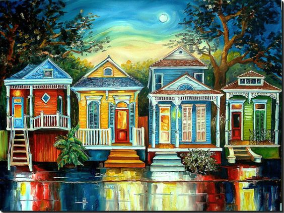 Bright Colors Historic Architecture And A Culture That S Stickier Than The Weather New Orleans Is One Of Kind Destination For Art Artists